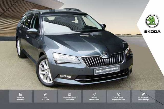 SKODA Superb 2.0 TDI (150ps) SE 5-Dr Estate