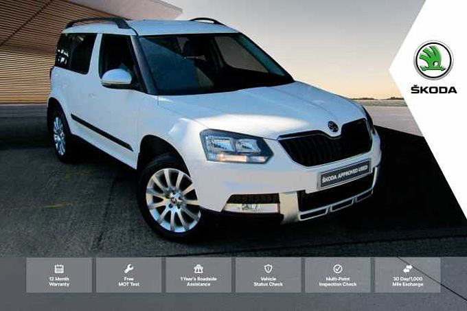 SKODA Yeti Outdoor Diesel Estate 2.0 TDI CR [150] SE Business 4x4 5dr DSG