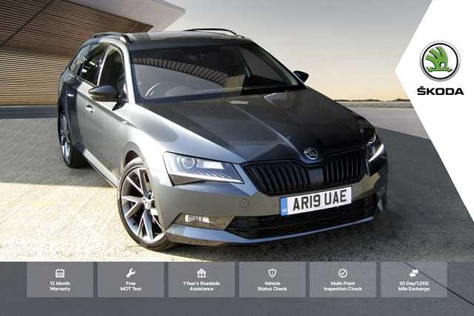 SKODA Superb 2.0 TDI SCR (150ps) SportLine DSG Estate